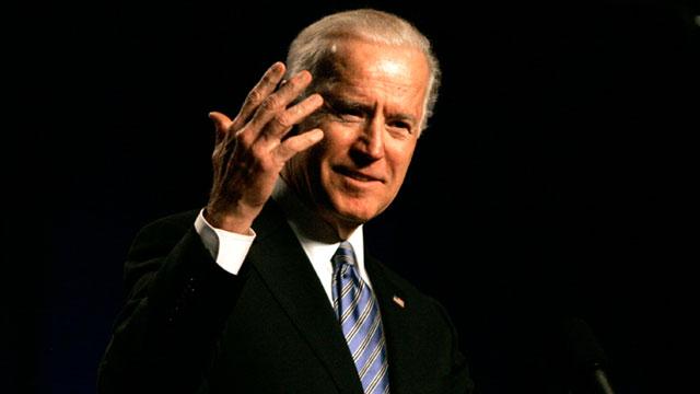 PHOTO: Vice President Joe Biden speaks during the South Carolina Democratic parties Jefferson Jackson Dinner, May 3, 2013, in Columbia, SC.