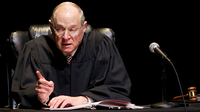 PHOTO: Justice Anthony Kennedy