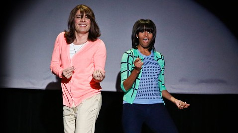 ap michelle obama jimmy fallon jt 130223 wblog First Lady Michelle Obama Busts a Move in Evolution of Mom Dancing