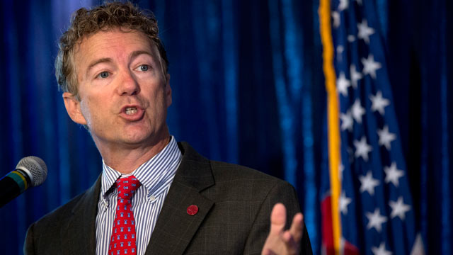 PHOTO: Sen. Rand Paul, R-Ky. speaks in Washington, June 12, 2013.