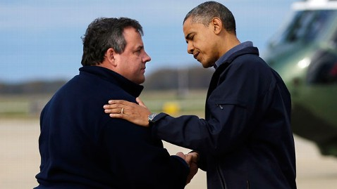 ap obama chris christie jef 130528 wblog The Note: Jersey Shore Edition