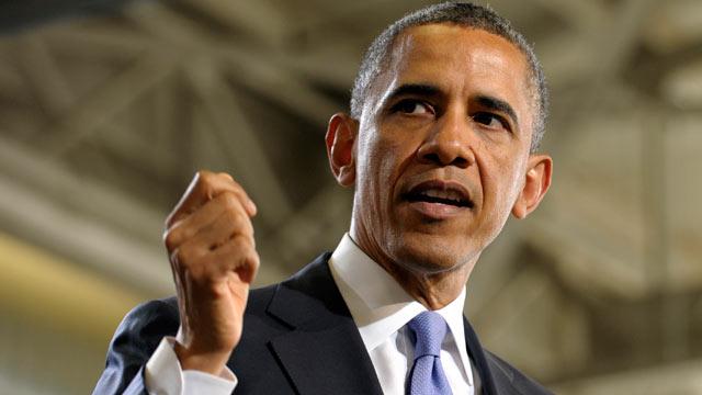 PHOTO: President Barack Obama speaks at the Police Academy in Denver, APril 3, 2013.
