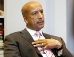 PHOTO: New Orleans Mayor Ray Nagin speaks during an interview in his office at City Hall in New Orleans, Dec. 23, 2008.