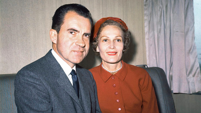 PHOTO: Richard and Pat Nixon
