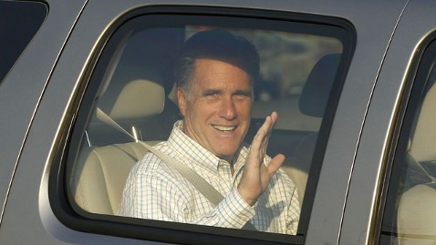 ap romney 120623 wblog Cash Rules at Romney Retreat While Condoleezza Rice Steals the Show