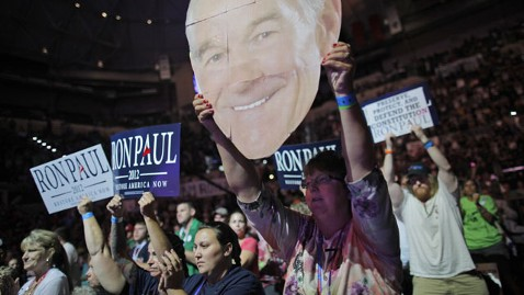 ap ron paul 120826 wblog Ron Paul Rallies Supporters Ahead of GOP Convention