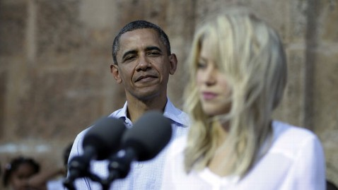 ap shakira 120415 wblog Obama, Shakira Join Forces at Colombian Cultural Event