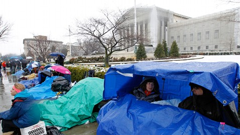ap supreme court crowds nt 130325 wblog Sleep Deprived and Shivering at the Supreme Court