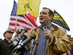PHOTO: Tea Party Sen. Ted Cruz, R-Texas, speaks at a rally at the World War II Memorial in Washington on Oct. 13, 2013.