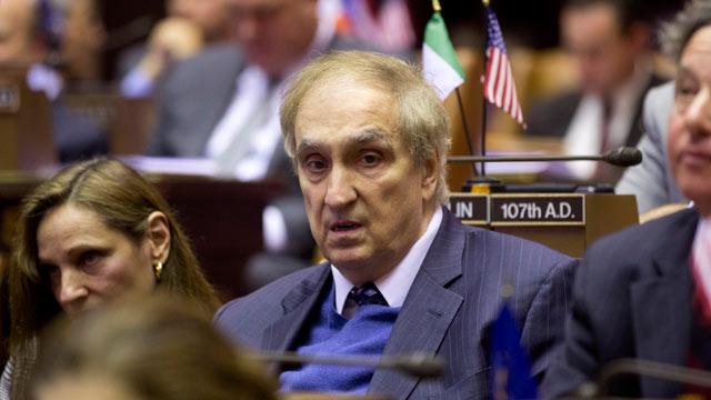 PHOTO: Assemblyman Vito Lopez during session at the Capitol, Jan. 14, 2013, in Albany, N.Y.