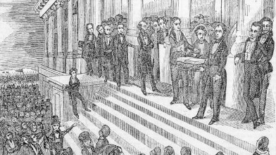 PHOTO: William Henry Harrison inauguration