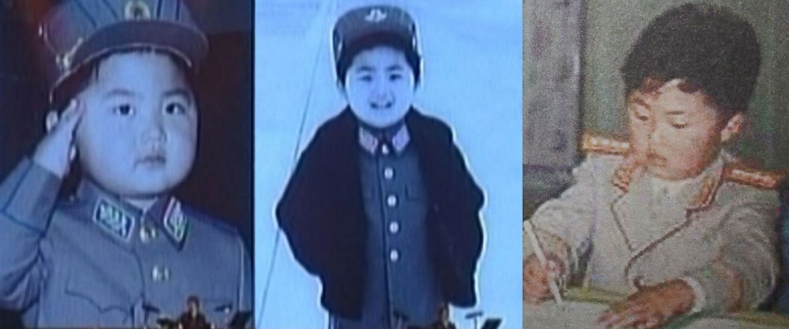 PHOTO: Undated handout pictures showing North Korean leader Kim Jong-un as a child were released by the North Korean Central Television (KCTV) and made available during KCTVs coverage of Moranbong Bands performance, April 21, 2014 show.