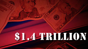 Photo: Federal Deficit Hit Record $1.4 Trillion in Fiscal Year 2009