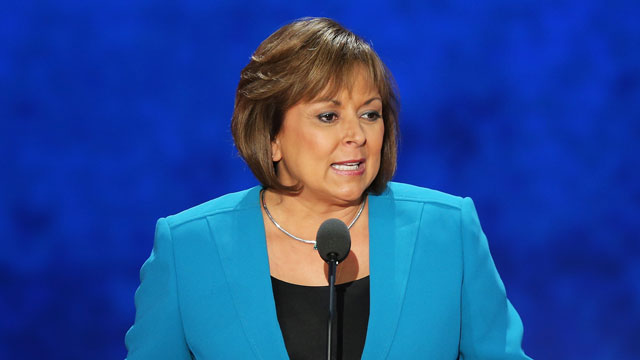 PHOTO: New Mexico Gov. Susana Martinez speaks during the third day of the Republican National Convention at the Tampa Bay Times Forum on August 29, 2012 in Tampa, Florida.