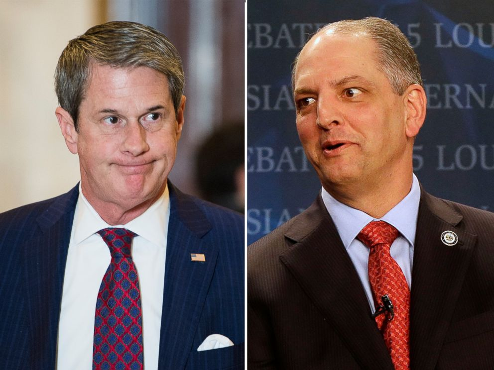 PHOTO: Pictured from left, David Vitter and John Bel Edwards.