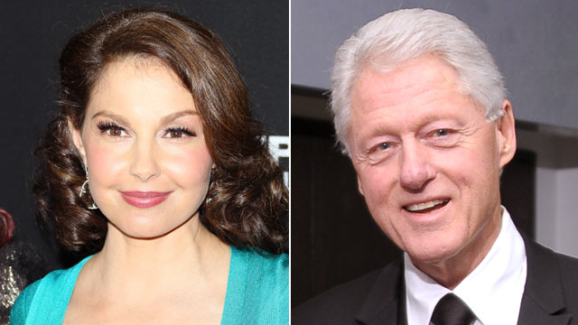 PHOTO: Ashley Judd, left, has reportedly spoken to former President Bill Clinton about possibly entering the U.S. Senate race in Kentucky.
