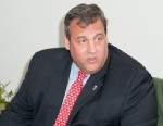 PHOTO: New Jersey Governor Chris Christie attends the Overdose Prevention Act Bill signing at Barnert Medical Arts Complex on May 2, 2013 in Paterson, N.J.