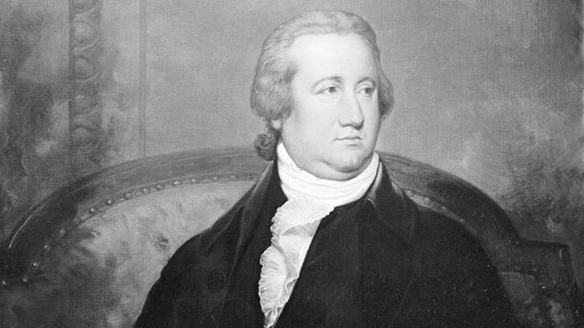 PHOTO: Frederick Augustus Conrad Muhlenberg served as the First Speaker of The House of Representatives.