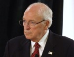 PHOTO: Former Vice President Dick Cheney speaks at the Long Island Association fall luncheon at the Crest Hollow Country Club on Oct. 18, 2012 in Woodbury, N.Y.