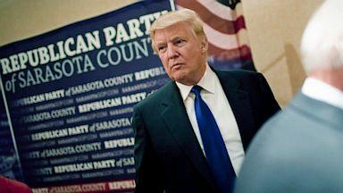 PHOTO: Donald Trump at GOP dinner