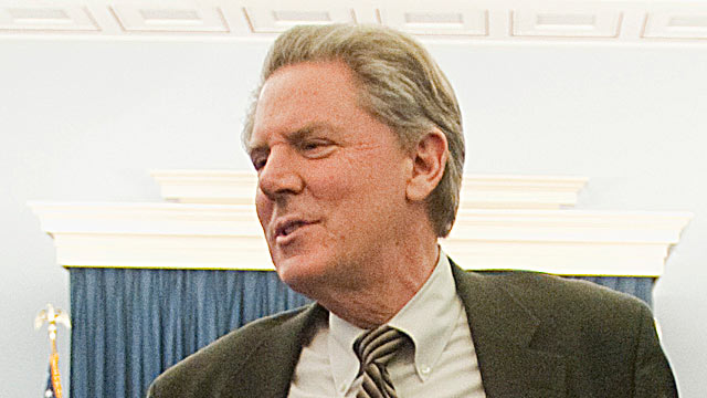 PHOTO: Rep. Frank Pallone, D-N.J., waits for the start of a news conference, Feb. 8, 2012.