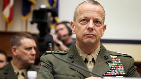 gty gen john allen nt 130122 wblog Gen. Allen, Top Commander in Afghanistan, Cleared of Wrongdoing With Socialite