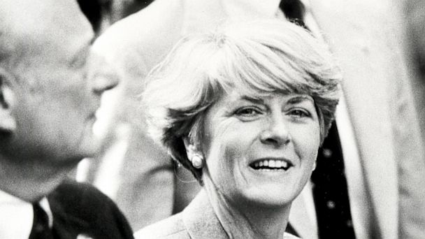 PHOTO: Geraldine Ferraro attends the Columbus Day Parade in New York City in 1984.
