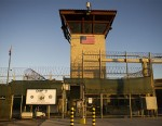 PHOTO: The front gate of Camp Six detention facility of the Joint Detention Group at the U.S. Naval Station in Guantanamo Bay, Cuba is seen on Jan. 19, 2012.