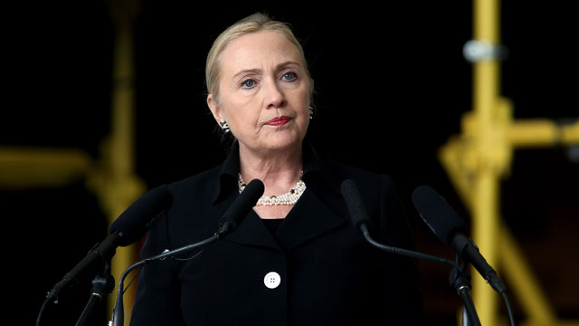 PHOTO: Secretary of State Hillary Clinton speaks at the ASC facilities on Nov. 15, 2012 in Adelaide, Australia.