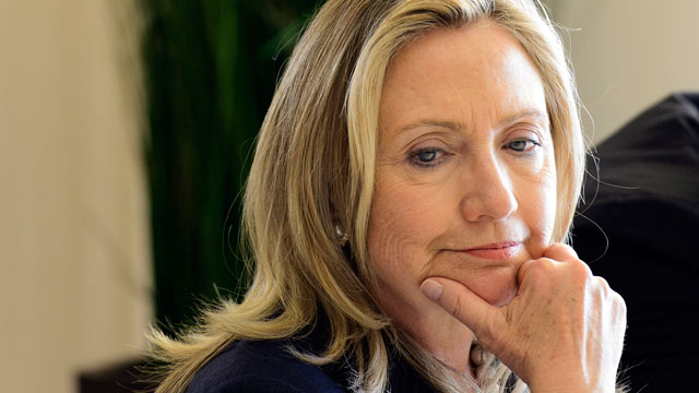 PHOTO: U.S. Secretary of State Hillary Rodham Clinton