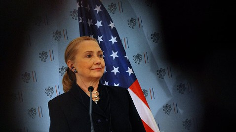 gty hillary clinton jt 121209 wblog Hillary Clinton Hospitalized With Blood Clot