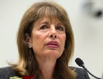 """PHOTO: Rep. Jackie Speier, D-Calif., testifies before a House Judiciary committee hearing on H.R.3179, the """"Marketplace Equity Act of 2011,"""" to improve the states collection of sales tax over the internet, July 24, 2012."""