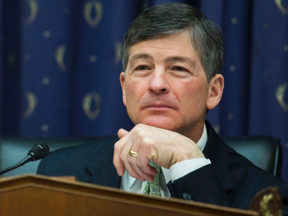 PHOTO: U.S. Representative Jeb Hensarling, delivers his statement before Federal Reserve Chairman Janet Yellens semi-annual report on monetary policy and the outlook for the U.S. economy in Washington, Feb. 11, 2014.