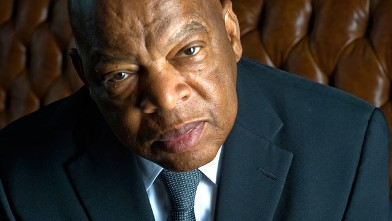 PHOTO: Rep. John Lewis poses for a portrait in his office on Capitol Hill in Washington. D.C., June 3, 2011.