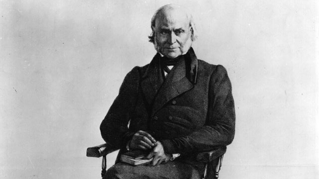PHOTO: John Quincy Adams, the 6th President of the United States of America and the son of John Adams, the 2nd President of the United States.