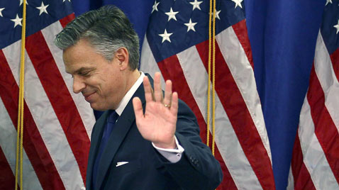 gty jon huntsman quits ss thg 120116 wblog Today in Pictures: Jan. 16, 2012