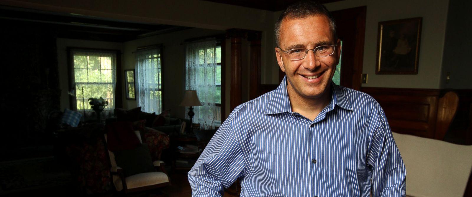PHOTO: MIT professor of economics, Jonathan Gruber, at his home, June 29, 2012.