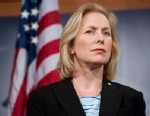 PHOTO: Sen. Kristin Gillibrand speaks during a news conference with New York and New Jersey Senators on Wednesday, July 14, 2010 in this file photo.