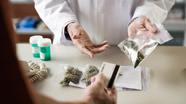 PHOTO: Marijuana dispensary