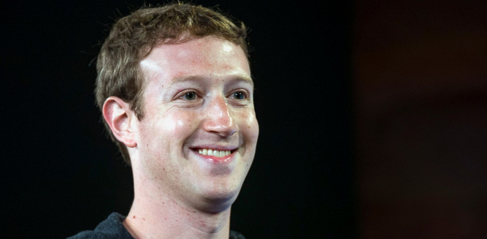 PHOTO: Mark Zuckerberg, chief executive officer of Facebook Inc., smiles while speaking during an event at the companys headquarters in Menlo Park, Calif., June 20, 2013.