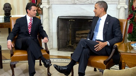 gty mexico president enrique pena nieto barack obama thg 130502 wblog The Note: Obama Faces Mexican Headwinds