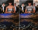 PHOTO: Iranian News Agency Fars photoshopped Michelle Obamas Oscar dress, Feb. 25, 2013.