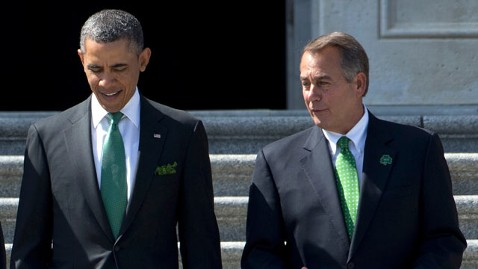 gty obama boehner jef 130405 wblog The Note: Budget Battle Ahead
