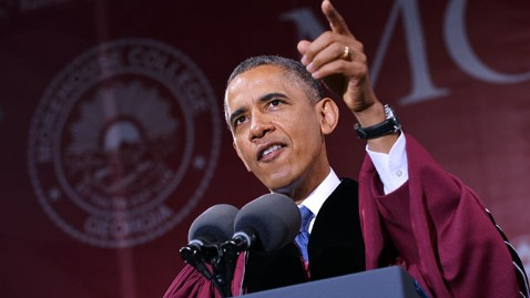 gty obama commencement jef 130531 wblog The Note: Loan Me Your Ears    The Debate Over Student Debt