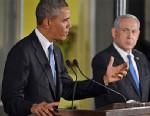 PHOTO: Barack Obama and Benjamin Netanyahu