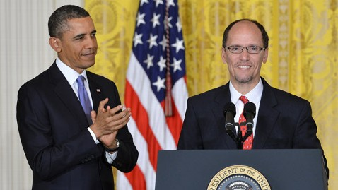 gty obama tom perez mi 130318 wblog President Obama Nominates Perez to Be Labor Secretary 