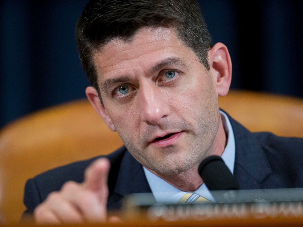 PHOTO: Representative Paul Ryan questions witnesses during a House Ways and Means Committee hearing in Washington, July 17, 2015.