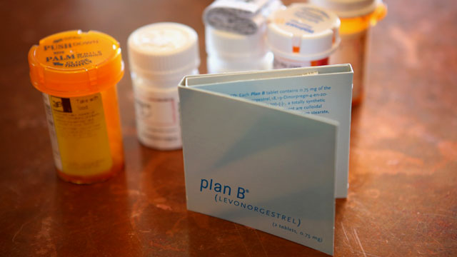 PHOTO: Packaged Plan B contraceptives, April 5, 2013, in Chicago.