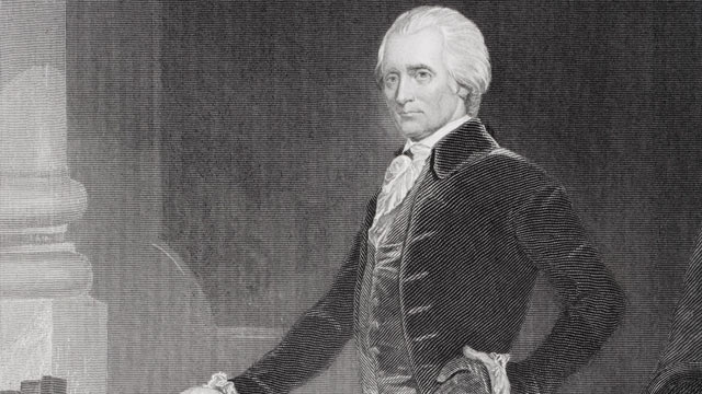 PHOTO: Richard Henry Lee, 1732 - 1794, signatory of Declaration of Independence.