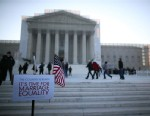 PHOTO: The court is scheduled to hear arguments on whether Congress can withhold federal benefits from legally wed gay couples by defining marriage as only between a man and a woman.